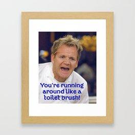 Toilet Brush? Framed Art Print