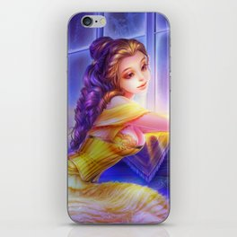 Sleepless Nights-Belle iPhone Skin