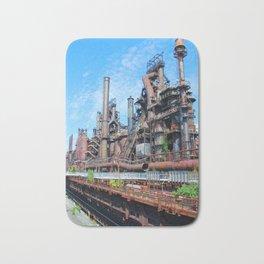 Bethlehem Steel Blast Furnaces 8 Bath Mat