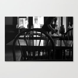 Waiting for a friend Canvas Print