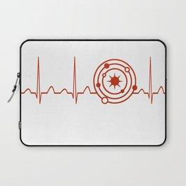 Astrophysicist Heartbeat Laptop Sleeve