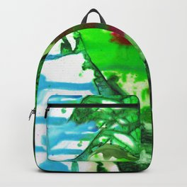 Eternal Heart No. 13H by Kathy Morton Stanion Backpack