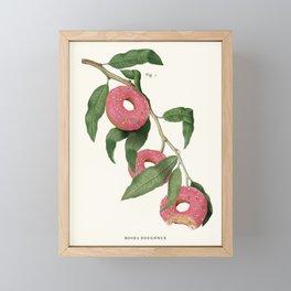 Donut Plant Framed Mini Art Print