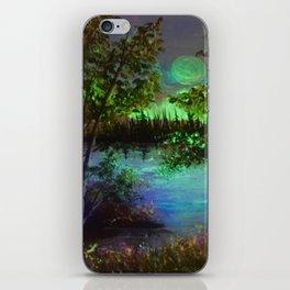 Lakeside views iPhone Skin