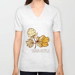Cloudberries Unisex V-Neck