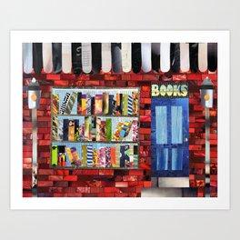 Book Shop Art Print
