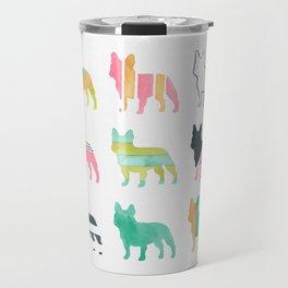 French Bulldogs Travel Mug