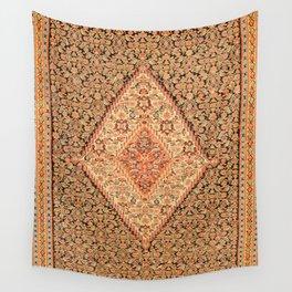 Senneh  Antique Kurdistan North West Persian Kilim Wall Tapestry