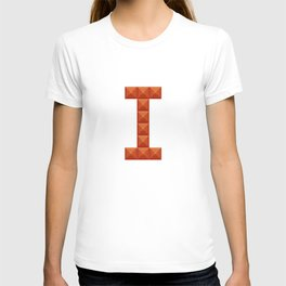 """Letter """"I"""" print in beautiful design Fashion Modern Style T-shirt"""