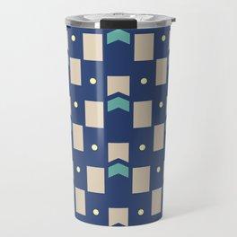 Art Deco Geometric Pattern 272 Travel Mug