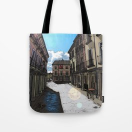 Calle Mayor (color) Tote Bag