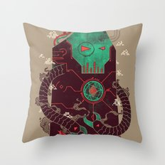 Operate, Annihilate Throw Pillow
