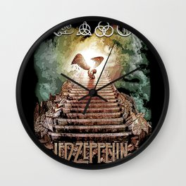 Red Zeppelin - Stairway to Heaven Wall Clock