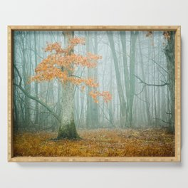 Autumn Woods Serving Tray