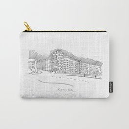 Frank Owen Gehry Carry-All Pouch