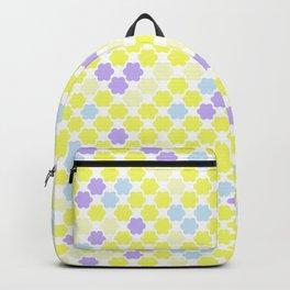 Fun summer Yellow pattern . Backpack