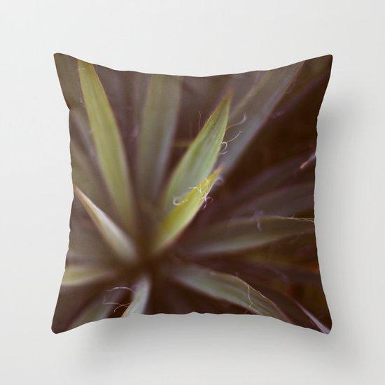 Yucca #1 Throw Pillow