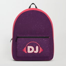 DJ Headphones Rave Quote Backpack