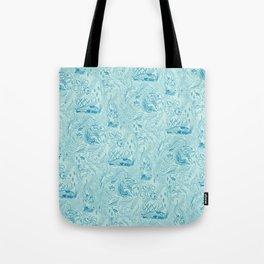 Le Grand Bleu Tote Bag