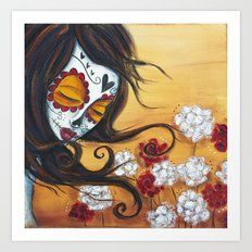 She Forgets Me Not Art Print