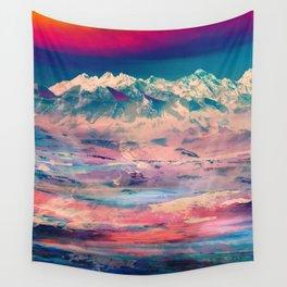 Dusky Mountain Wall Tapestry