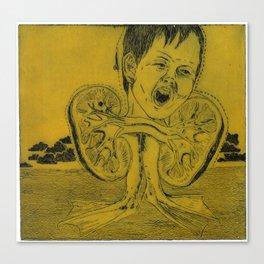 Kidney Canvas Print
