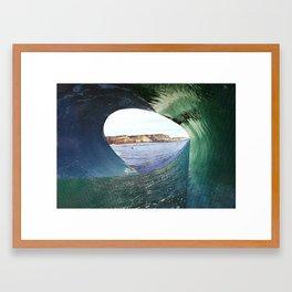 colagem 8 Framed Art Print