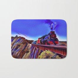 PoleCat Ridge Locomotive Bath Mat
