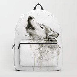 Wolf Howling Backpack