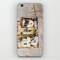 kids iPhone & iPod Skins featuring Kids by Andreas Derebucha