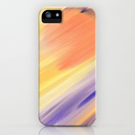 """""""Catch the Sun #1 – New #1"""" Oil Painting iPhone Case"""