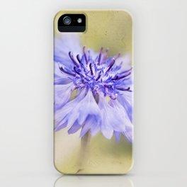 Wild Cornflower iPhone Case