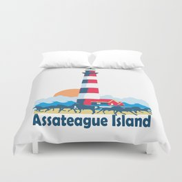 Assateague Island - Maryland. Duvet Cover