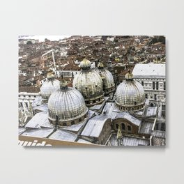 The Roof of St Marks Metal Print