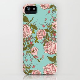 beautiful roses iPhone Case