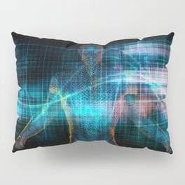 Futuristic Healthcare in the Future with Medical Doctor Pillow Sham