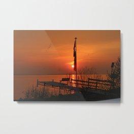 Saskatchewan Skies Metal Print