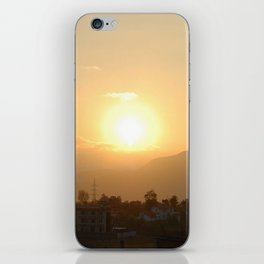 Sun Set Across Nagarjuna iPhone Skin