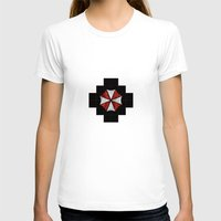 resident evil T-shirts featuring Resident Evil Umbrella Corporation  by DavinciArt