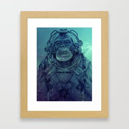 Apex-XIII: Mission I Framed Art Print