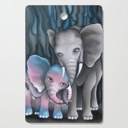 Elephant Love 2 Cutting Board