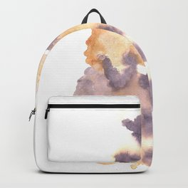 Soft Texture Watercolor | [Grief] Duality Backpack