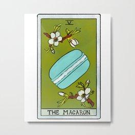 The Macaron | Baker's Tarot Metal Print