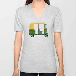 Indian Tuk-tuk Unisex V-Neck