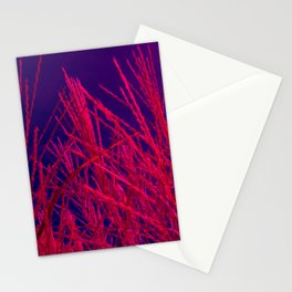 elephant grass abstract Stationery Cards