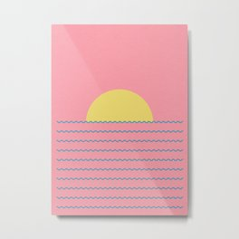 Every Day The Sun Rise Metal Print