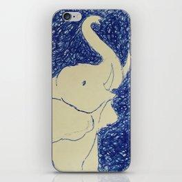 Elephant Doodle # 2 iPhone Skin