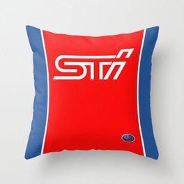 STI Rally Subaru Throw Pillow