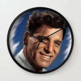 Burt Lancaster, Actor Wall Clock