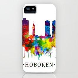 Hoboken New Jersey Skyline iPhone Case